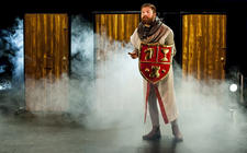 Photograph from The Magic Flute - lighting design by Alex Fernandes
