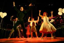 Photograph from Tristan and Yseult (2005-6) - lighting design by Alex Wardle