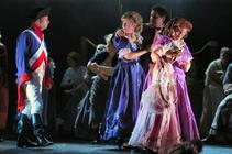 Photograph from The Scarlet Pimpernel - lighting design by Richard Williamson
