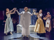 Photograph from Playhouse Creatures - lighting design by Jack Wills