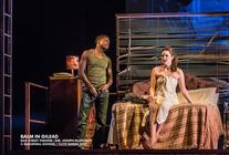 Photograph from Balm in Gilead - lighting design by Jess Bernberg
