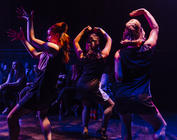 Photograph from Sweet Charity - lighting design by Sam Ohlsson