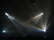 Photograph from Pop Icons 2006 - lighting design by Pete Watts