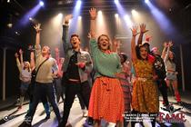 Photograph from Fame - lighting design by Matt Whale