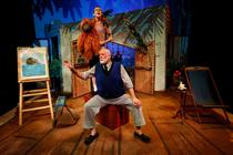 Photograph from Grandads Island - lighting design by Jason Salvin
