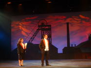 Photograph from Brassed Off - lighting design by Pete Watts