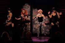 Photograph from Mon Cabaret Noir - lighting design by alinpopa