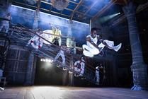 Photograph from Twelfth Night - lighting design by Malcolm Rippeth