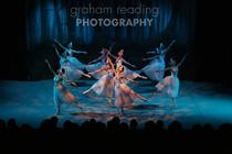Photograph from Swan Lake - lighting design by David Manson