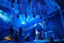 Photograph from Hey Day Festival - lighting design by alinpopa