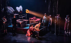 Photograph from Aminta e Fillide & Venus and Adonis - lighting design by lewis.hannaby