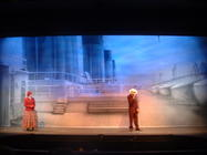 Photograph from Titanic - The Musical - lighting design by Pete Watts