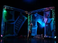 Photograph from IVAN - lighting design by Pete Watts