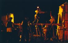 Photograph from Jack and Jenny - lighting design by Alex Wardle