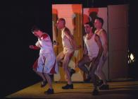 Photograph from The Red Shoes - lighting design by Alex Wardle