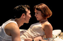 Photograph from Kiss Me - lighting design by Matthew Haskins