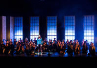 Photograph from Epic Stages 2013 - lighting design by John Castle