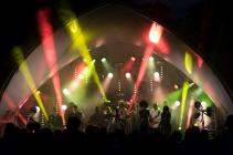 Photograph from Simon Says 2015 Festival (Outdoor Stage) - lighting design by George Russell