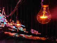 Photograph from The Tempest - lighting design by callum-excell