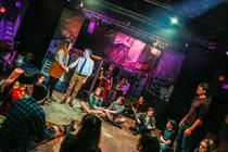 Photograph from Rent - lighting design by smcalister125