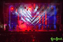 Photograph from GreenSounds Festival - lighting design by alinpopa