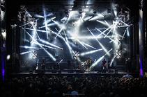 Photograph from Creative Fest - lighting design by alinpopa