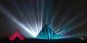 Photograph from Orascom Telecom - lighting design by Durham Marenghi