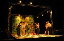 Photograph from The Miser - lighting design by Steve Lowe