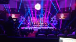Photograph from Confederation of African Football Awards - lighting design by grahamrobertslx