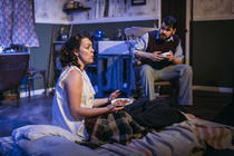 Photograph from MEN SHOULD WEEP - lighting design by Sam Ohlsson