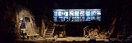 Photograph from No Man's Land - lighting design by Chris Jaeger