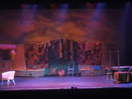 Photograph from Carmen - lighting design by Pete Watts
