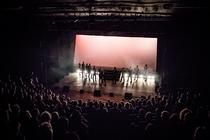Photograph from Semitoned: Live at the Exeter Northcott - lighting design by LewisPlumb
