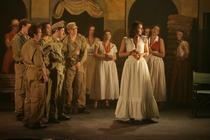 Photograph from Carmen - lighting design by Paul Need