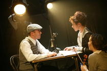 Photograph from Mack and Mabel - lighting design by Richard Jones