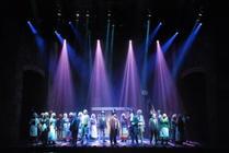 Photograph from Sweeney Todd - lighting design by Scott Allan