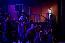 Photograph from Jesus Christ Superstar - lighting design by Manuel Garrido Freire