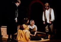 Photograph from The Herbal Bed - lighting design by Michael Dobbs