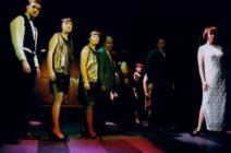 Photograph from Cabaret - lighting design by Michael Dobbs