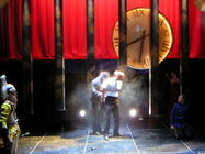 Photograph from Twelfth Night - lighting design by Richard Jones