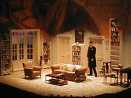 Photograph from Kafka's Dick - lighting design by Richard Jones