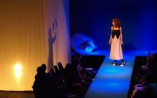 Photograph from Good Morning I'm Sleeping - lighting design by Steve Lowe