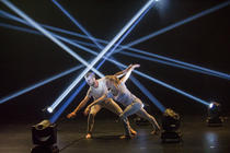 Photograph from Pattern Recognition - lighting design by Jamie Platt