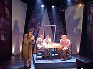 Photograph from The Man Outside - lighting design by Richard Jones