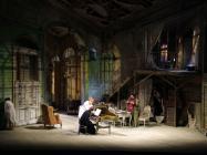 Photograph from Il Barbiere di Siviglia - lighting design by Mark Jonathan