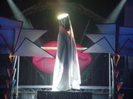Photograph from Club Tropicana - lighting design by Richard Jones