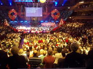 Photograph from Celebrating Christmas with the Salvation Army - lighting design by Richard Jones