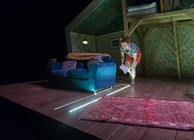 Photograph from To Dream Again - lighting design by Jamie Platt