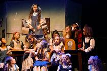 Photograph from Annie The Musical - lighting design by kyleohara