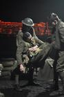 Photograph from Journey's End - lighting design by grahamrobertslx